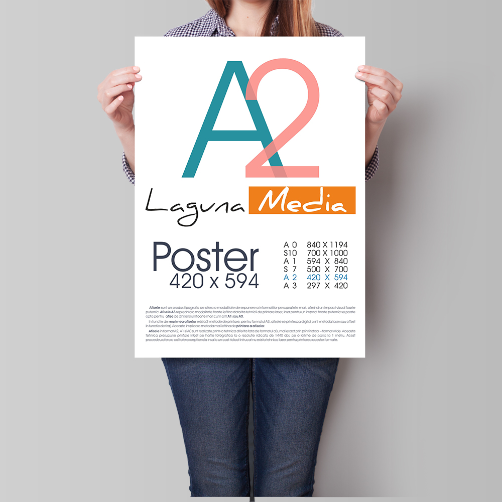 Posters Designs & Printings, full color, announcements trade shows and special events | Print24sa
